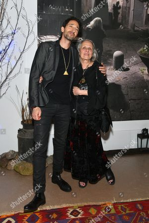 Stock Image of Adrien Brody, Sylvia Plachy