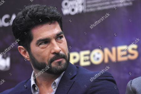 Editorial picture of 'Campeones' film press conference, Mexico City, Mexico - 03 May 2018