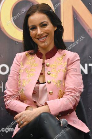 Stock Picture of Claudia Lizaldi