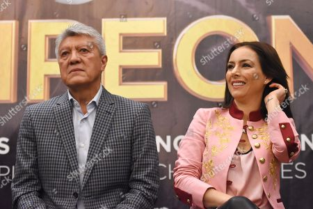 Editorial image of 'Campeones' film press conference, Mexico City, Mexico - 03 May 2018