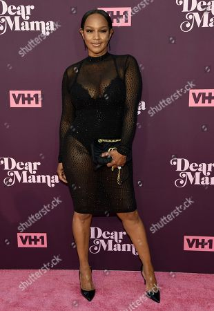 "Jackie Christie arrives at the 3rd annual ""Dear Mama: A Love Letter to Moms"" at The Theatre at Ace Hotel, in Los Angeles"