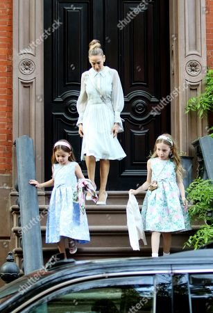 Editorial picture of Sarah Jessica Parker out and about, New York, USA - 03 May 2018