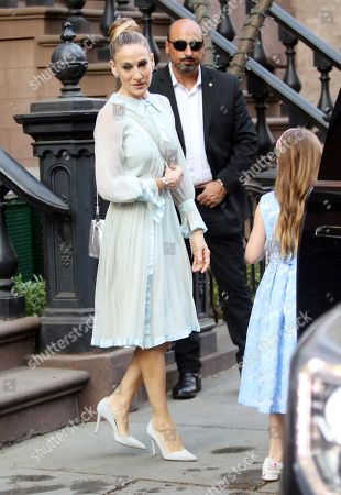 Editorial image of Sarah Jessica Parker out and about, New York, USA - 03 May 2018