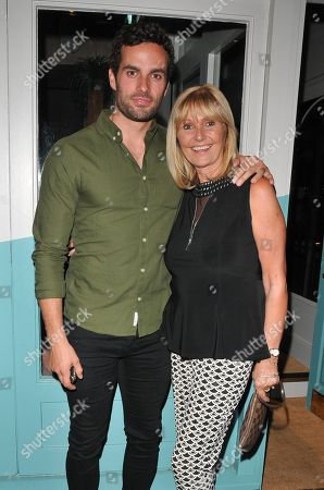 James Dunmore and his Mum