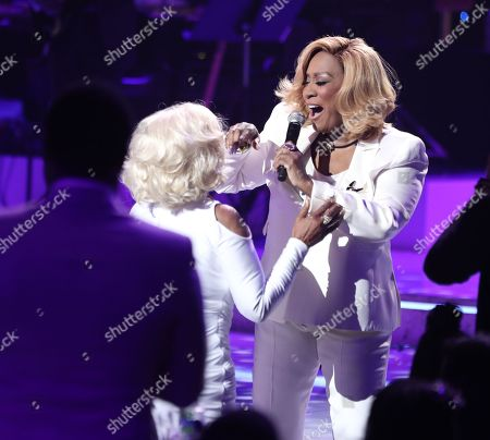 Janice Combs and Patti LaBelle