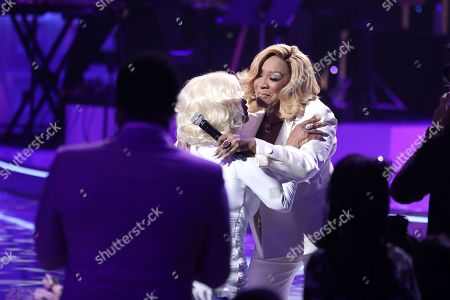 Stock Photo of Janice Combs and Patti LaBelle