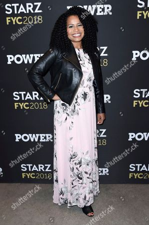 """Stock Image of Courtney Kemp attends the """"Power"""" FYC event at The Jeremy, in Los Angeles"""