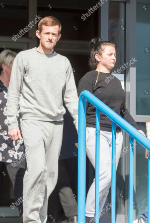 Five People Charged Following A Racist Assault On A 17 Year Old Boy In Croydon Last Week Appear At Croydon Magistrates Court Including Daryl Davies Aged 20 Charged With Violent Disorder And His Sister Danyelle Davies Aged 24 Charged With Violent Disorder. 03.04.2017 Reporter Tom Kelly.