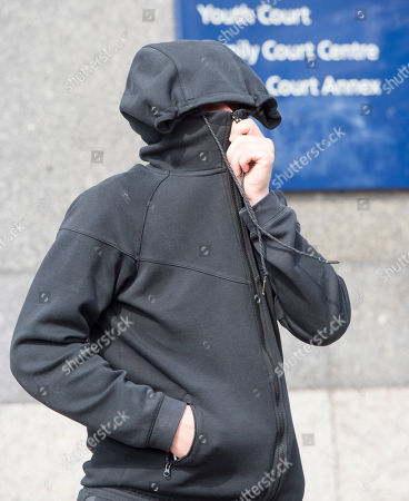 Five People Charged Following A Racist Assault On A 17 Year Old Boy In Croydon Last Week Appear At Croydon Magistrates Court Including Jack Walder Age 24 Charged With Violent Disorder. 03.04.2017 Reporter Tom Kelly.