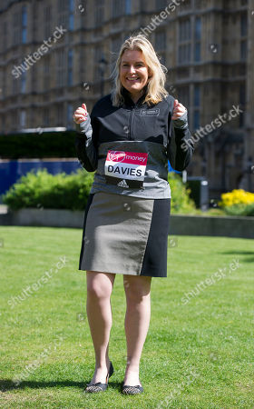 Mims Davies: A Total Of 16 Mps Are Taking On The Challenge Of Running The 2017 Virgin Money London Marathon Smashing All Previous Records For Mp Entries. The Previous Record Of Nine Was Set In 2014. The 16 Include Three Women Mps - Another Record - Including One From The Scottish National Party Hannah Bardell The First Snp Member Ever To Run. Pictured Is Mims Davies.