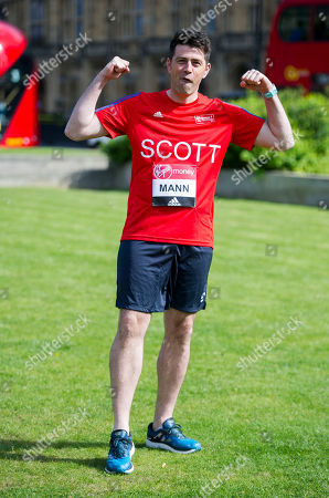 Scott Mann: A Total Of 16 Mps Are Taking On The Challenge Of Running The 2017 Virgin Money London Marathon Smashing All Previous Records For Mp Entries. The Previous Record Of Nine Was Set In 2014. The 16 Include Three Women Mps - Another Record - Including One From The Scottish National Party Hannah Bardell The First Snp Member Ever To Run. Pictured Is Scott Mann.