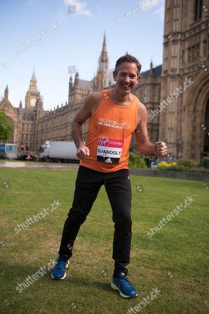 Editorial image of Jonathan Djanogly: A Total Of 16 Mps Are Taking On The Challenge Of Running The 2017 Virgin Money London Marathon Smashing All Previous Records For Mp Entries. The Previous Record Of Nine Was Set In 2014. The 16 Include Three Women Mps - Another Reco
