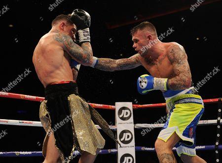 Stock Photo of Martin Murray V Gabriel Rosado. Matchroom Boxing. Liverpool. Martin Murray V Gabriel Rosado. 22/04/17