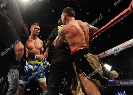 Martin Murray V Gabriel Rosado. Matchroom Boxing. Liverpool. Martin Murray V Gabriel Rosado.argument At The End 22/04/17