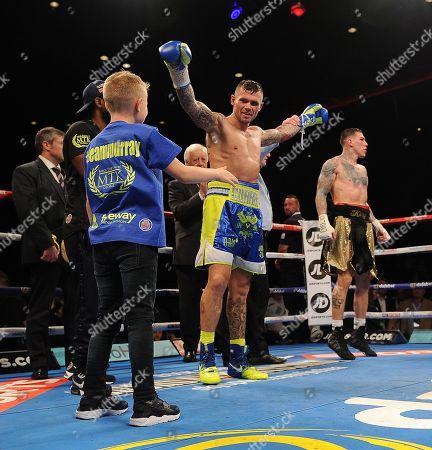 Stock Picture of Martin Murray V Gabriel Rosado. Matchroom Boxing. Liverpool. Martin Murray V Gabriel Rosado. 22/04/17