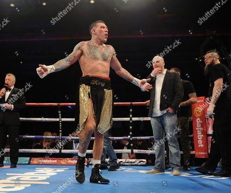 Editorial image of Martin Murray V Gabriel Rosado. Matchroom Boxing. Liverpool. Martin Murray V Gabriel Rosado. 22/04/17: Picture Kevin Quigley/daily Mail.