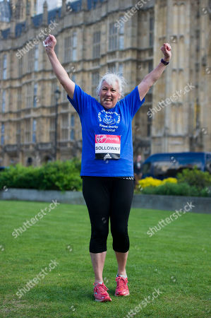 Amanda Solloway: A Total Of 16 Mps Are Taking On The Challenge Of Running The 2017 Virgin Money London Marathon Smashing All Previous Records For Mp Entries. The Previous Record Of Nine Was Set In 2014. The 16 Include Three Women Mps - Another Record - Including One From The Scottish National Party Hannah Bardell The First Snp Member Ever To Run. Pictured Is Amanda Solloway.