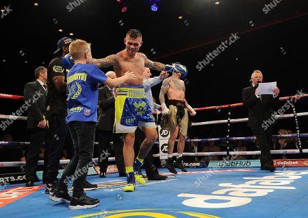 Editorial picture of Martin Murray V Gabriel Rosado. Matchroom Boxing. Liverpool. Martin Murray V Gabriel Rosado 22/04/17: Picture Kevin Quigley/daily Mail.