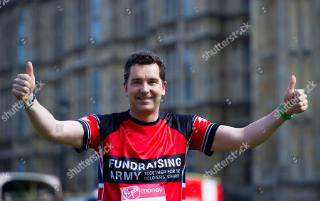 Editorial photo of Edward Timpson: A Total Of 16 Mps Are Taking On The Challenge Of Running The 2017 Virgin Money London Marathon Smashing All Previous Records For Mp Entries. The Previous Record Of Nine Was Set In 2014. The 16 Include Three Women Mps - Another Record
