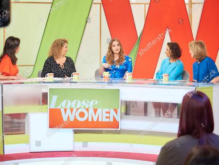 Andrea McLean, Nadia Sawalha, Jacqueline Jossa, Saira Khan and Kaye Adams