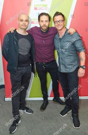 Sean Conlon, Scott Robinson, Ritchie Neville