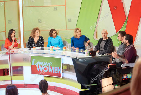 Andrea McLean, Nadia Sawalha, Saira Khan and Kaye Adams, Sean Conlon, Ritchie Neville, Scott Robinson