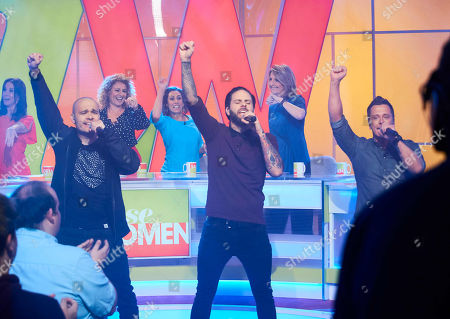 Editorial picture of 'Loose Women' TV show, London, UK - 04 May 2018