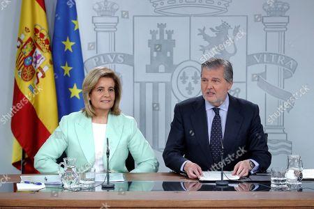Inigo Mendez de Vigo and Fatima Banez