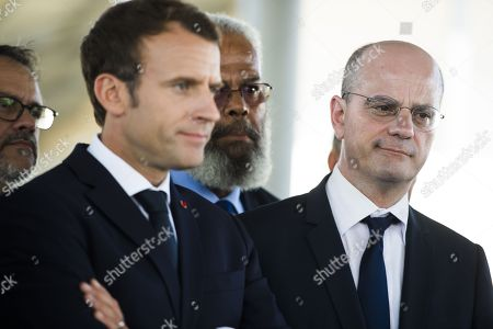 Editorial image of Emmanuel Macron visit to New Caledonia, South Pacific - 04 May 2018