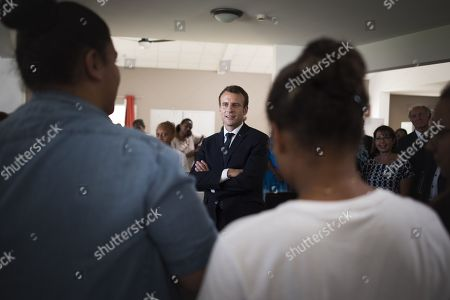 Editorial picture of Emmanuel Macron visit to New Caledonia, South Pacific - 04 May 2018