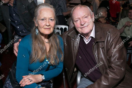 Stock Image of Anna Carteret and Julian Glover