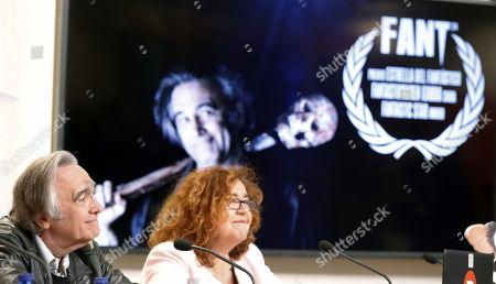 Editorial picture of Joe Danten receives honorable award of Bilbao FANTastico Film Festival, Spain - 04 May 2018