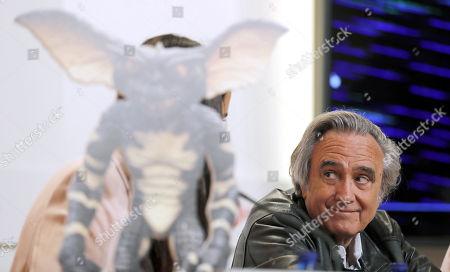 Editorial image of Joe Danten receives honorable award of Bilbao FANTastico Film Festival, Spain - 04 May 2018