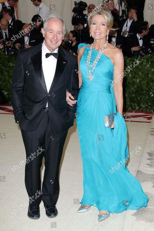 Stephen Schwarzman and Christine Schwarzman