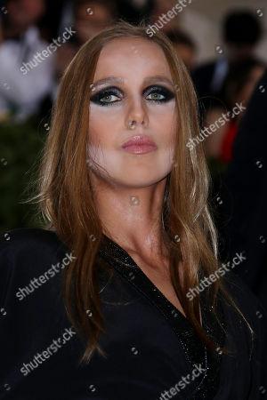 Stock Photo of Allegra Versace