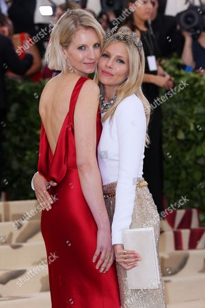 Stock Image of Savannah Miller and Sienna Miller