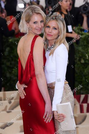 Savannah Miller and Sienna Miller