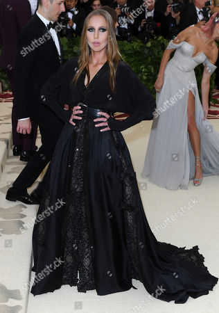 Editorial picture of The Metropolitan Museum of Art's Costume Institute Benefit celebrating the opening of Heavenly Bodies: Fashion and the Catholic Imagination, Arrivals, New York, USA - 07 May 2018