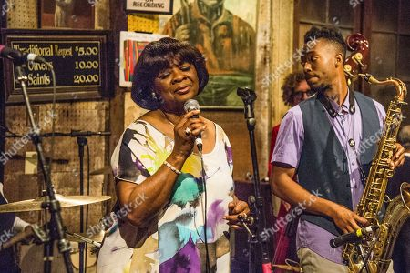 Irma Thomas performs at Preservation Hall's 14th annual Midnight Preserves at Preservation Hall, in New Orleans