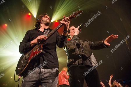 Zack Feinberg, David Shaw. Zack Feinberg, left, and David Shaw of The Revivalists perform at Saenger Theatre, in New Orleans