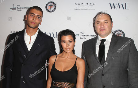 Younes Bendjima, Kourtney Kardashian, Ahmad Tarakji