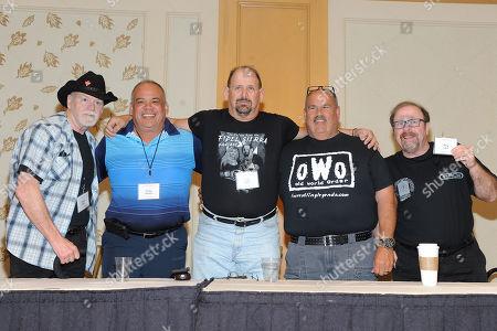 Don Bass, Ricky Santana, Fidel Sierra, Ed Morettti and Greg Lake