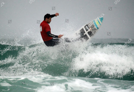 Editorial image of English National Surfing Championships, Watergate Bay, Newquay, Cornwall, UK - 05 May 2018