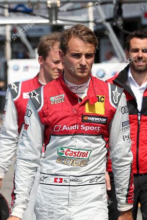 05.05.2018, Hockenheimring, Hockenheim, DTM 2018, 1.Lauf Hockenheimring,04.05.-06.05.2018 ,  Nico Mueller (CH#51) Audi Sport Team Abt Sportsline, Playboy Audi RS 5 DTM