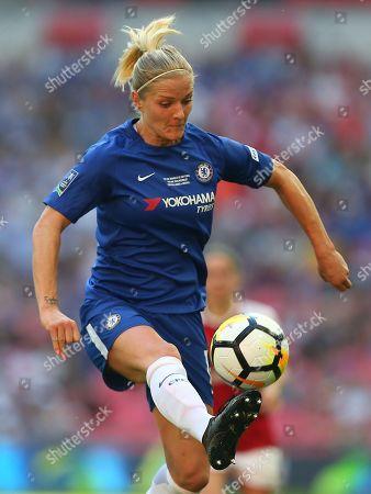 Katie Chapman  of Chelsea Ladies