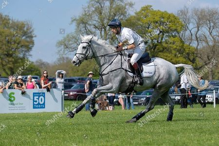 Harry Meade (GBR) on Away Cruising, during the Cross Country Phase. The 2018 Mitsubishi Motors Badminton Horse Trials,  Badminton, Gloucestershire, UK, 5th May 2018.