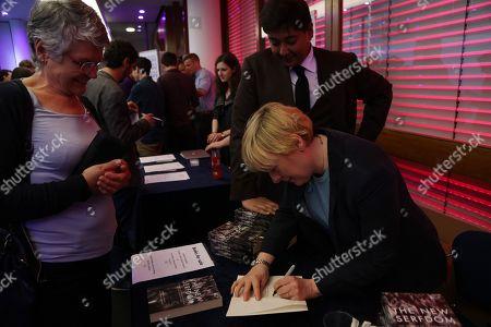 Angela Eagle MP book signing