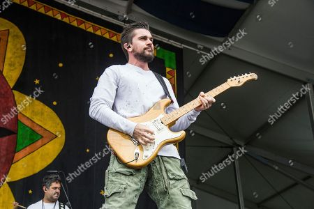 Juanes, Juan Esteban Aristizabal Vasquez. Juanes performs at the New Orleans Jazz and Heritage Festival, in New Orleans