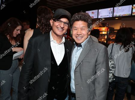 Producer Deepak Nayar and Donald Tang - CEO & Chairman of Tang Media Partners/Global Road Entertainment