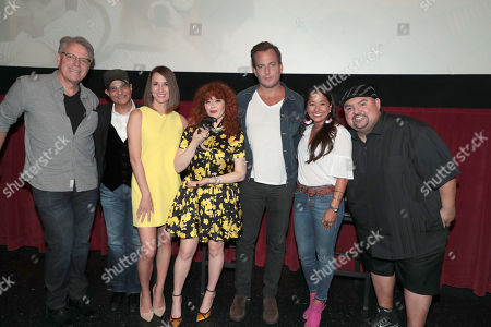 Director Raja Gosnell, Producer Deepak Nayar, Erin Ziering, Natasha Lyonne, Will Arnett, Verna Crownholm and Gabriel Iglesias
